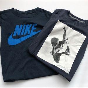 Bundle of 2 Preloved Boys Nike T-Shirts